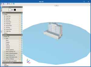 Open BIM CTE SUA 8. Entorno de trabajo. Vista 3D